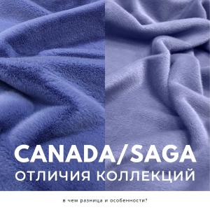 Отличия коллекций Saga и Canada