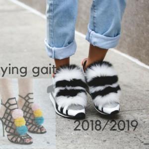 Летящей походкой: модные образы в стиле «спортивная обувь плюс экомех»