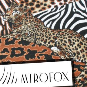 Хищный принт: с чем сочетать мех под зебру, тигра или дикую кошку?