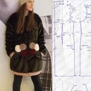 Рабочие заметки к курсу по пошиву зимнего или осенне-весеннего мехового пальто - спорт